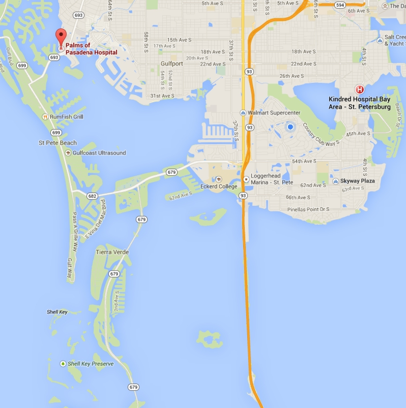 South_Pinellas_Boat_Accessible_Hospitals